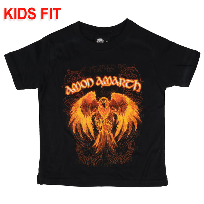 T-shirt pour enfants Amon Amarth - Burning Eagle - Metal-Kids