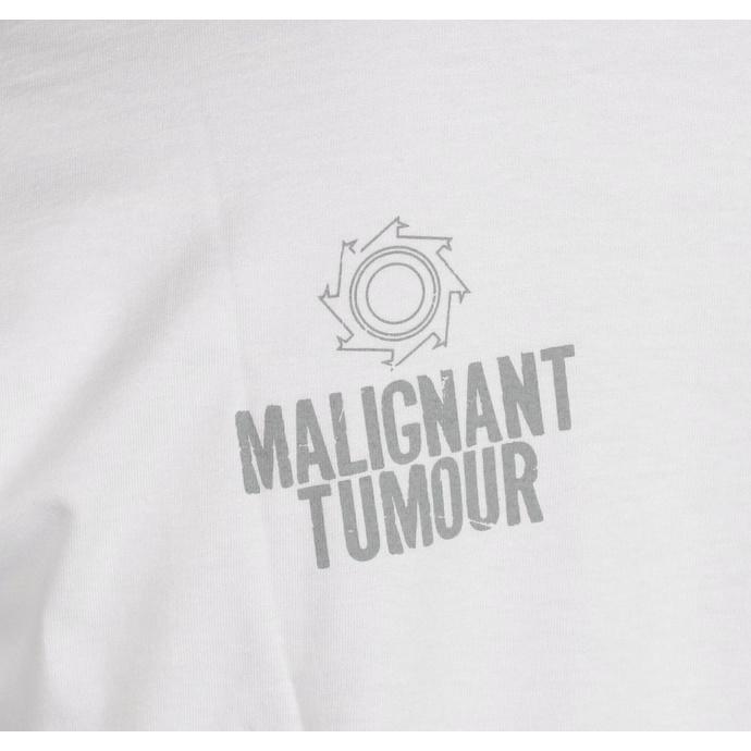 T-shirt MALIGNANT TUMOUR pour hommes  - E190 - BLANC