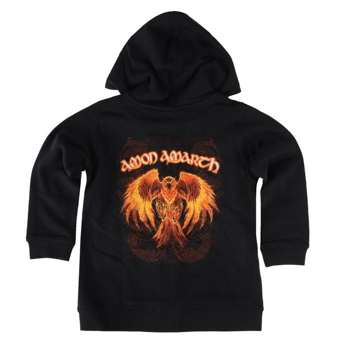 Sweat à capuche pour enfants Amon Amarth - Burning Eagle - Metal-Kids