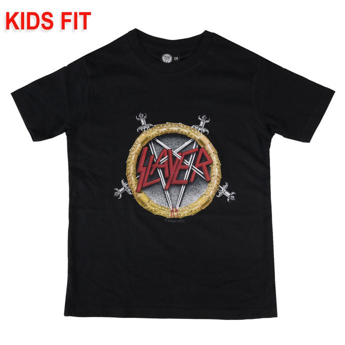 T-shirt pour enfants Slayer - Pentagram - Metal-Kids