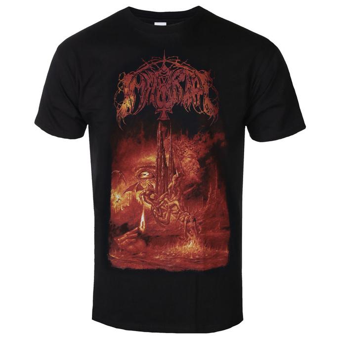 T-shirt pour hommes Immortal - Damned In Black 2020 - RAZAMATAZ