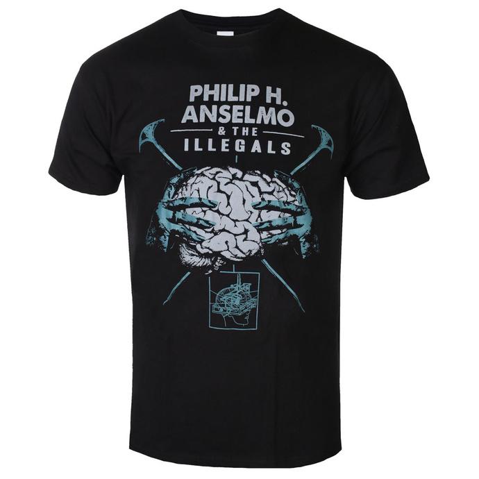 T-shirt pour hommes Philip H. Anselmo & The Illegals - Brain - RAZAMATAZ
