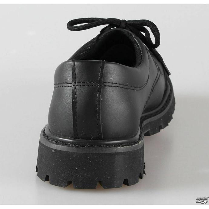 Chaussures en cuir avec 3 yeux BRANDIT - Phantom Noir - 9001/2 - ENDOMMAGÉ