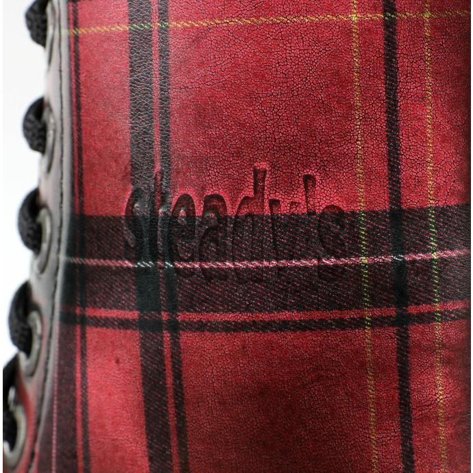 Bottes STEADY´S - 10 œillet - Grils Écosse