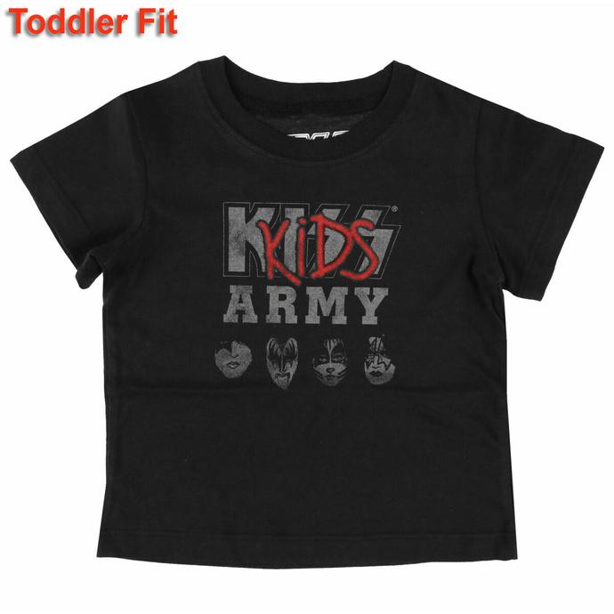 T-shirt pour enfants Kiss -Kids Army - ROCK OFF