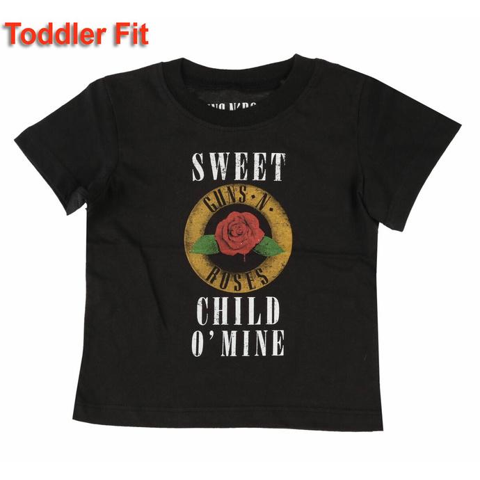 T-shirt pour enfants Guns N' Roses - Child O' Mine Rose - ROCK OFF