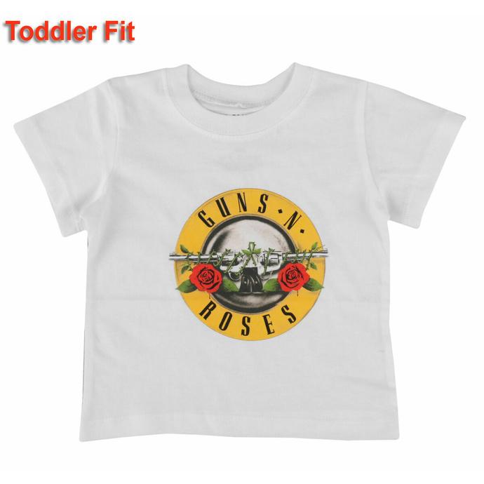 T-shirt pour enfants Guns N' Roses - Logo classique - WHT - ROCK OFF