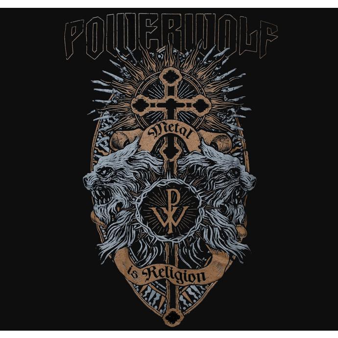 sweatshirt pour homme Powerwolf - Crest Wolves