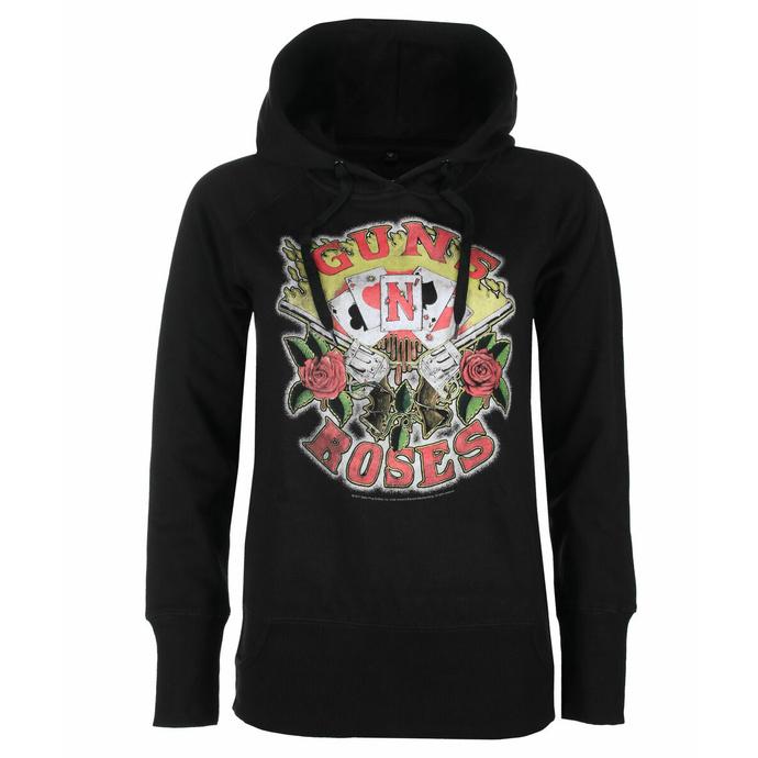 sweatshirt pour femmes Guns N' Roses - Cards
