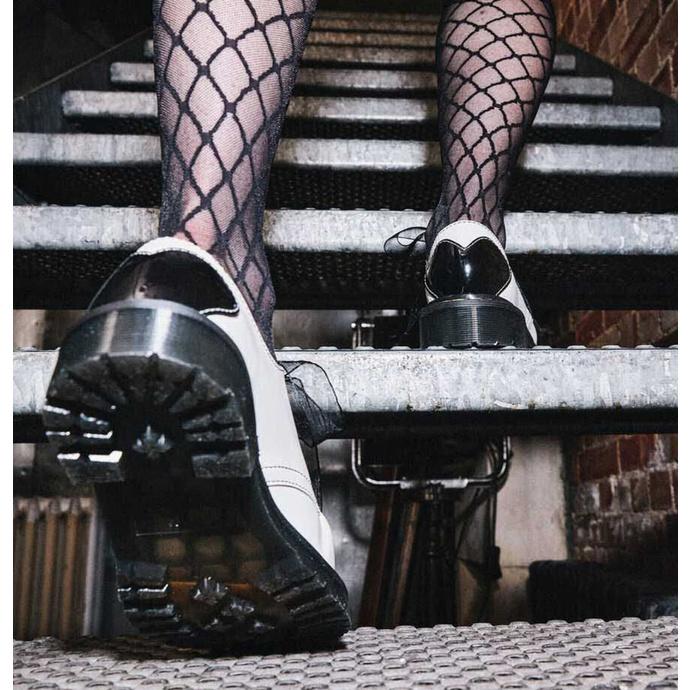 Bottes pour femmes DR. MARTENS - 1461 Hearts - blanc / noir