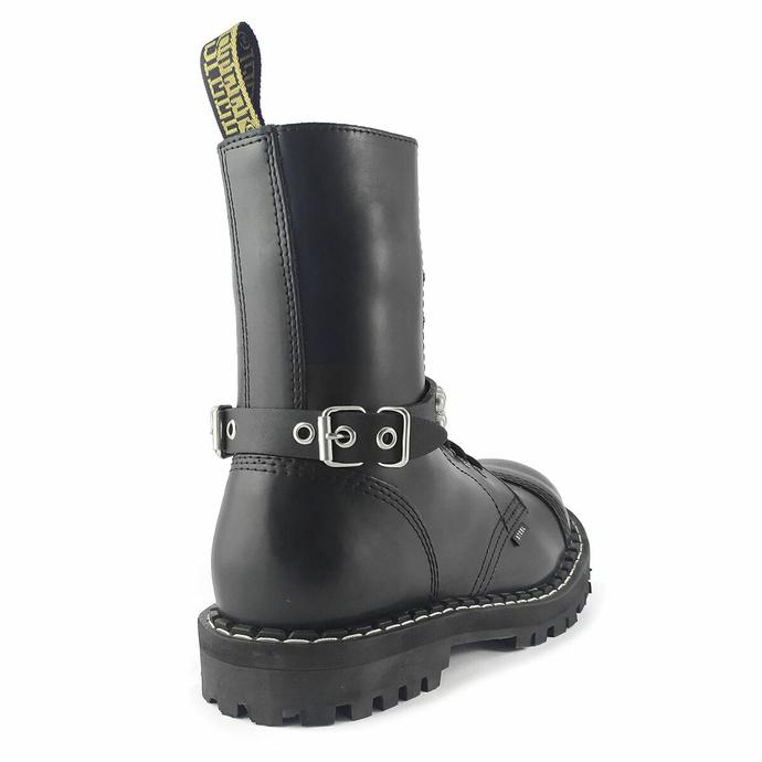 Harnais pour chaussures Cuir sangle avec rivets - bubble 2