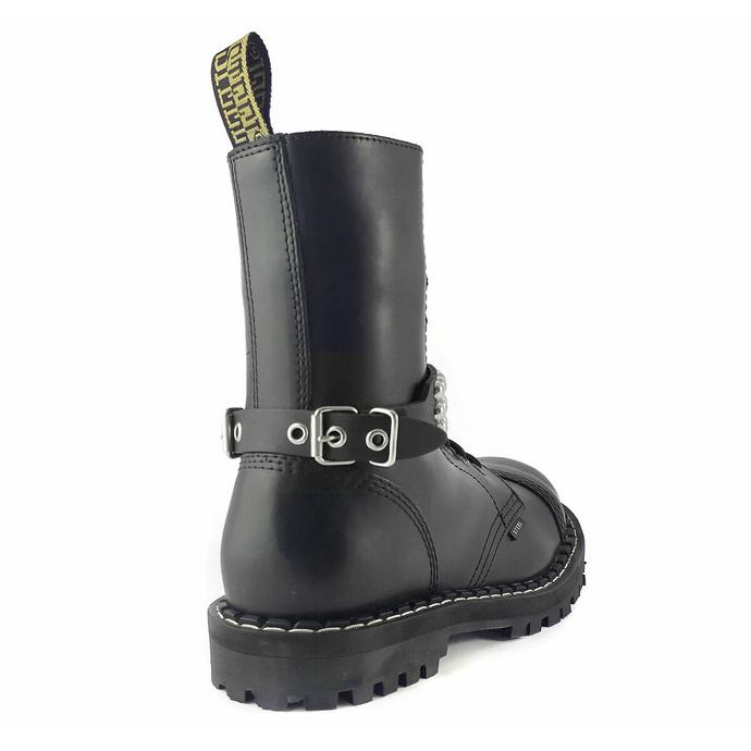 Harnais pour chaussures Cuir démarrer sangle avec rivets - bubble 3
