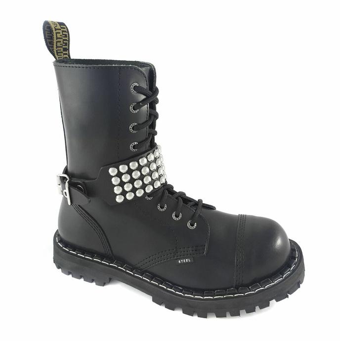 Harnais pour chaussures Cuir sangle avec rivets - bubble 4