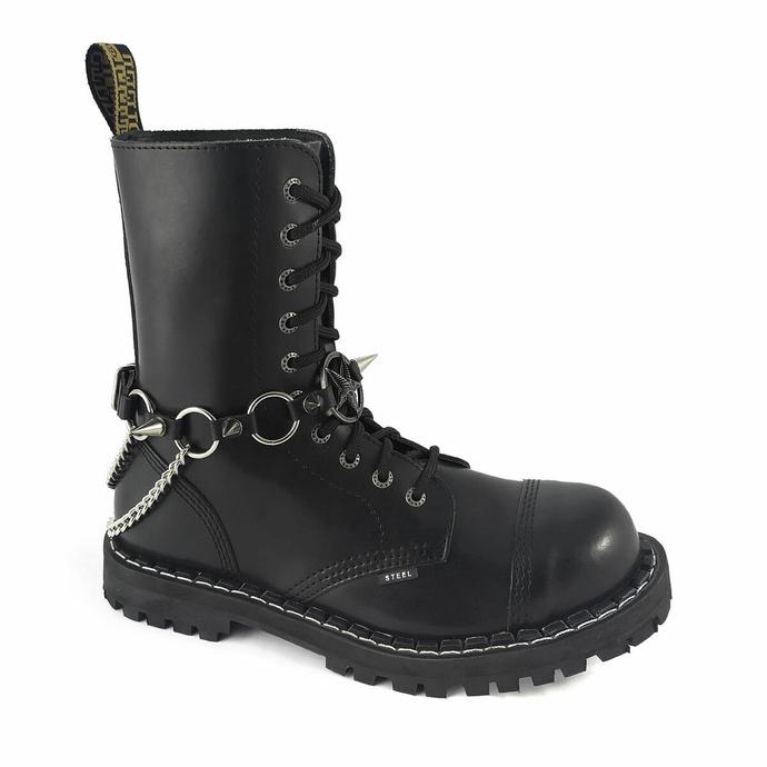 Harnais pour chaussures Anneaux Baphomet