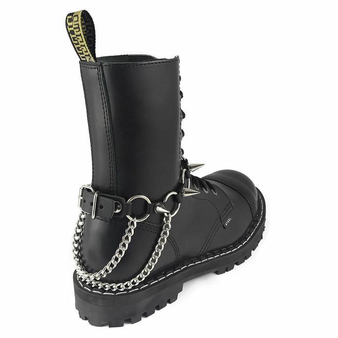 Harnais pour chaussures Anneaux croix inversées Boot Strap