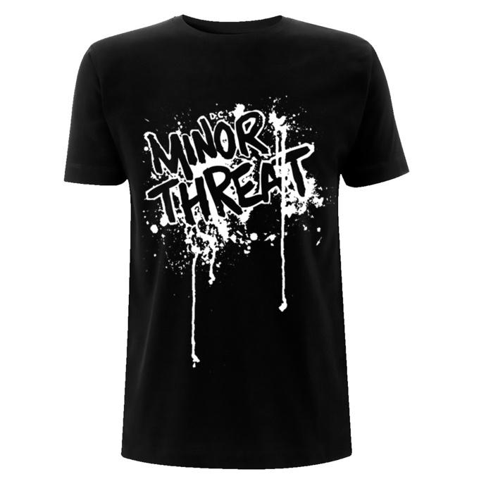 T-shirt pour homme Minor Threat - Drips - Noir