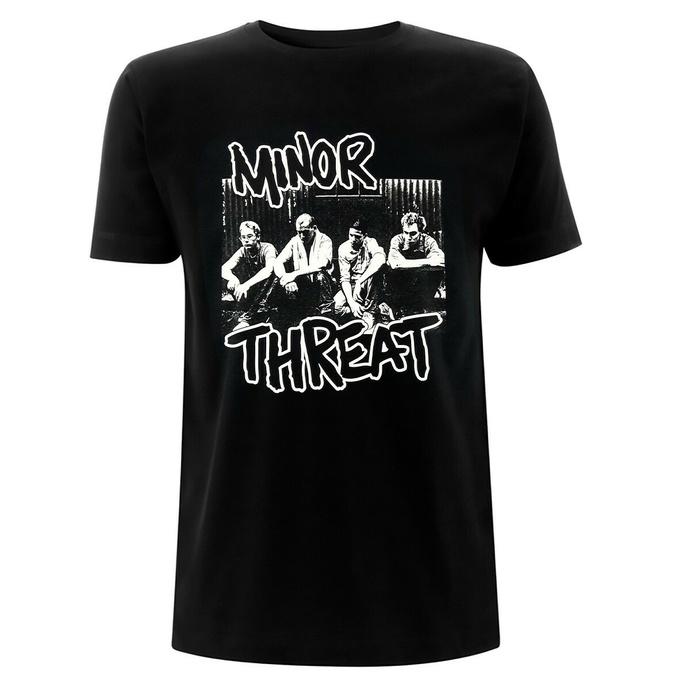 T-shirt pour homme Minor Threat - Xerox - Noir
