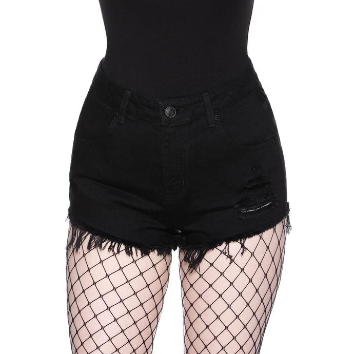 Shorts pour femmes KILLSTAR - Nothing Goes Denim