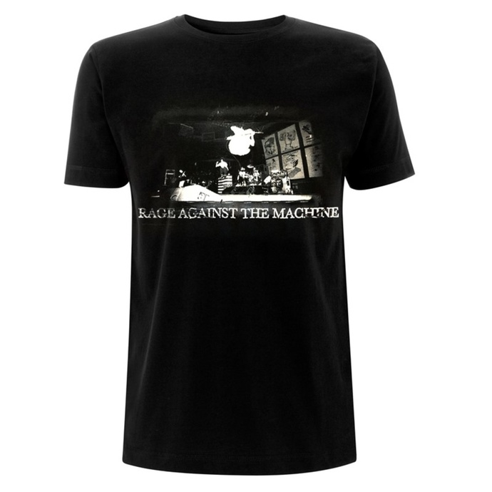 T-shirt pour hommes Rage against the machine - Live Jump - Noir