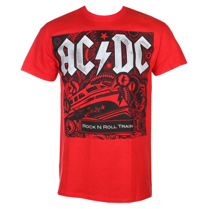 T-shirt pour hommes AC / DC - Rock N Roll Train - RAZAMATAZ