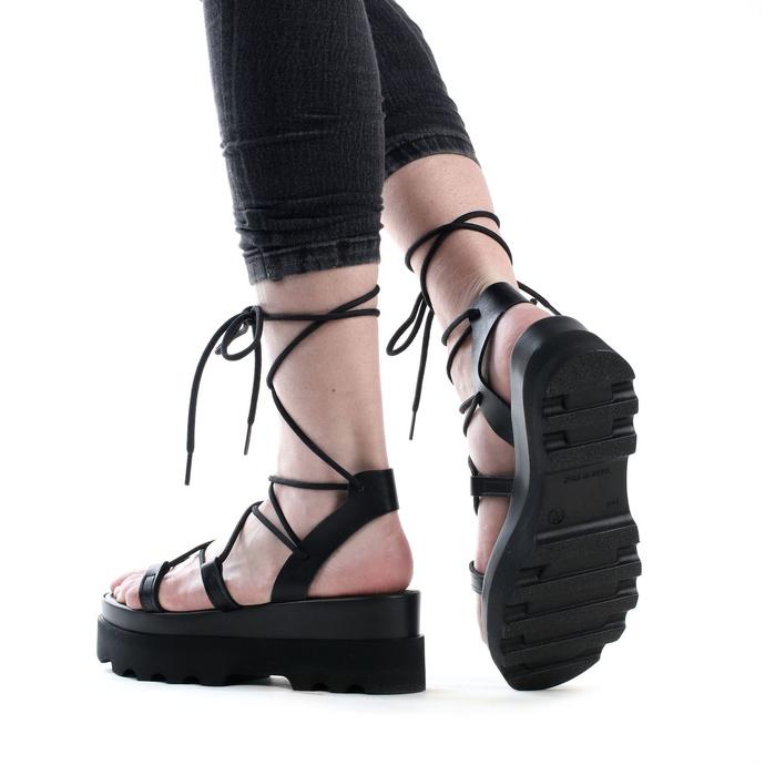 Chaussures (sandales) pour femmes ALTERCORE - Sue - Noir