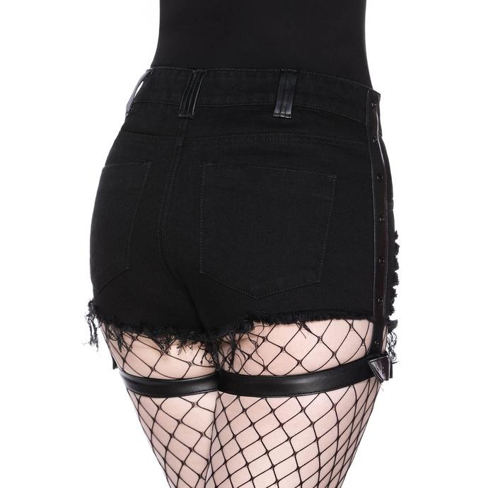 Short pour femmes KILLSTAR - Contraband Denim