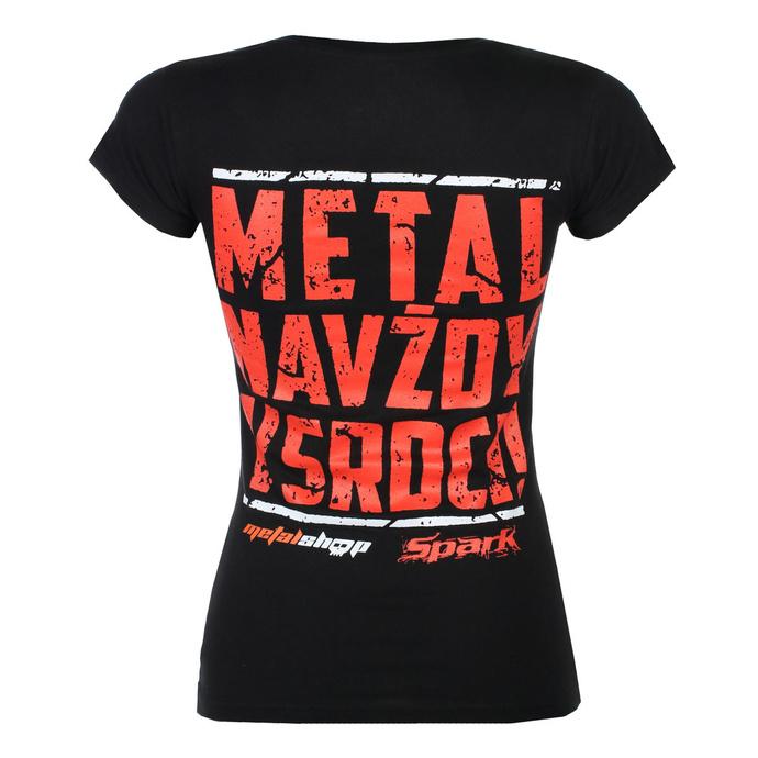 T-shirt pour femmes Metalshop x Spark