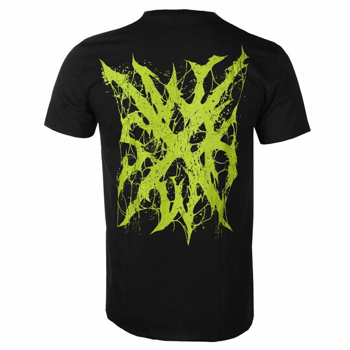 t-shirt pour homme Ingested - Démon - Noir - INDIEMERCH