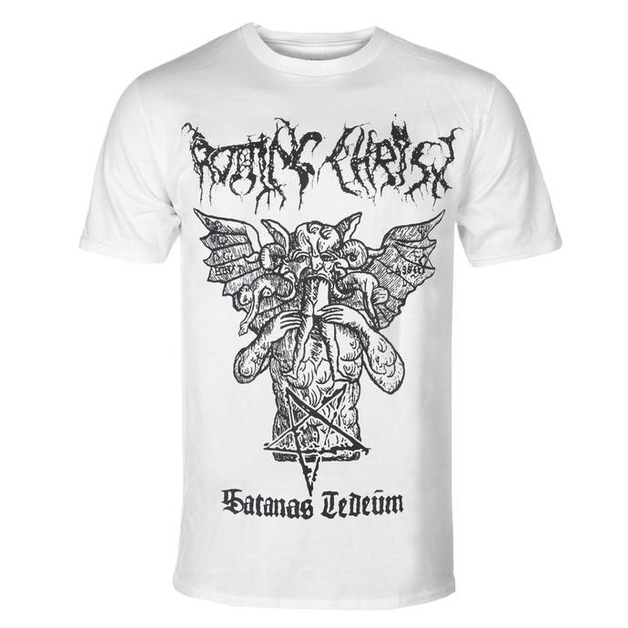T-shirt pour hommes Rotting Christ - Satanas Tedeum - RAZAMATAZ