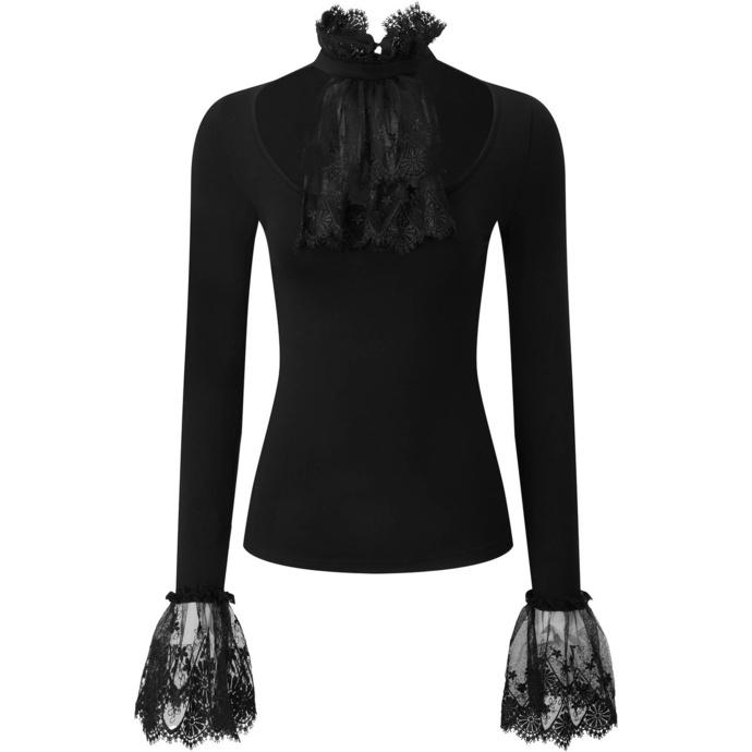 Chemise à manches longues pour femmes (top) KILLSTAR - Fiona Ruffle