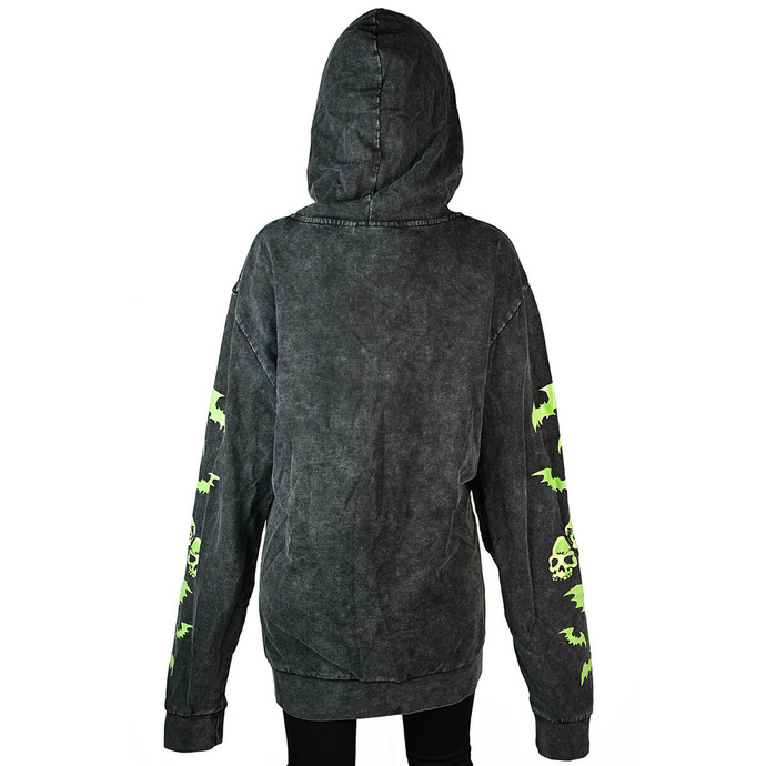 sweat-shirt unisexe KILLSTAR - Kon-Tiki - Noir