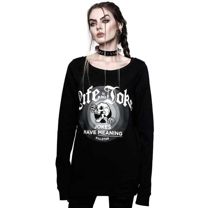Sweat-shirt pour femme KILLSTAR -Life is no joke