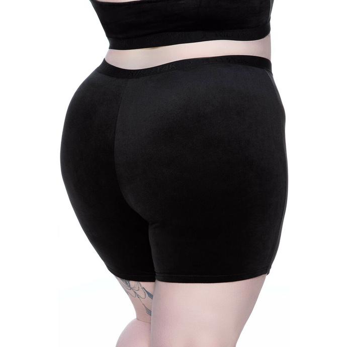 Shorts pour femmes KILLSTAR - Luna Cycliste - NOIR