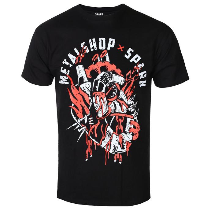 T-shirt pour hommes Metalshop x Spark