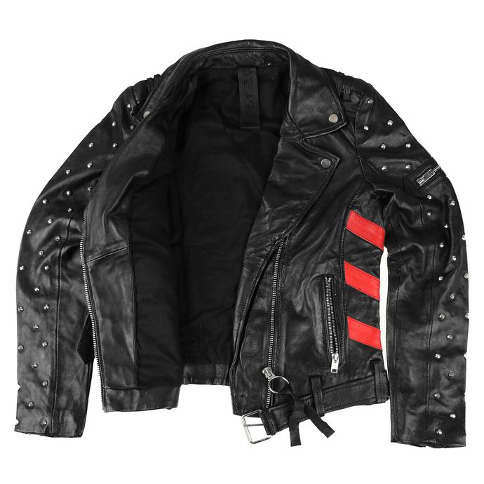Veste (de motard) pour femme 2 G2WTaly - SF LAROXV - Noir rouge