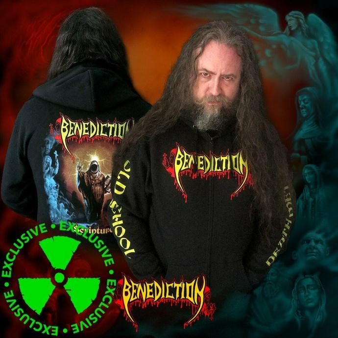 sweatshirt pour homme BENEDICTION - Scriptures - NUCLEAR BLAST