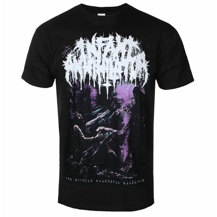 t-shirt pour homme Infant Annihilator - The Elysian  Grandeval Gallery - Noir - INDIEMERCH