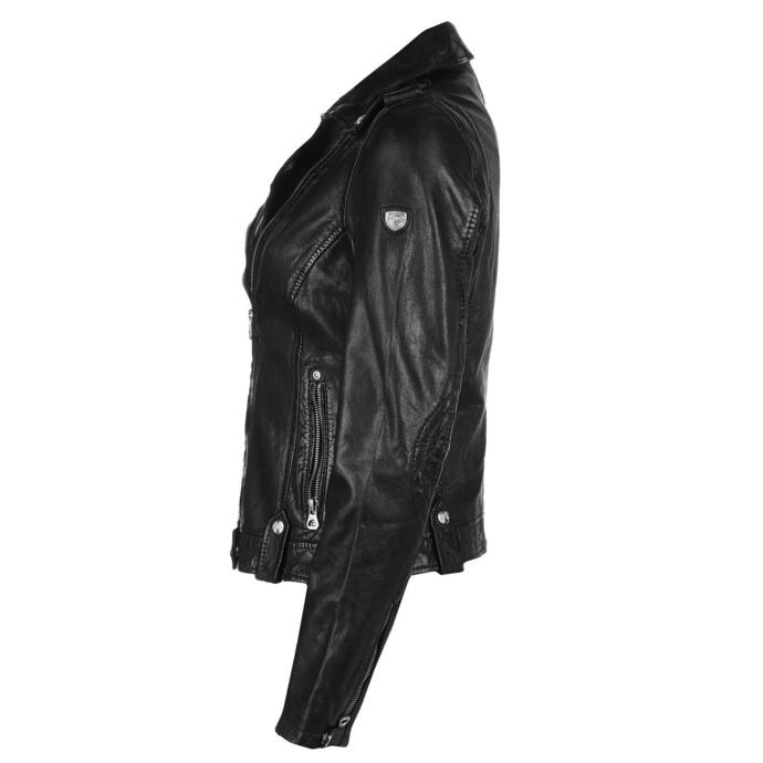Veste pour femmes (motard) Famos LAOSV - black