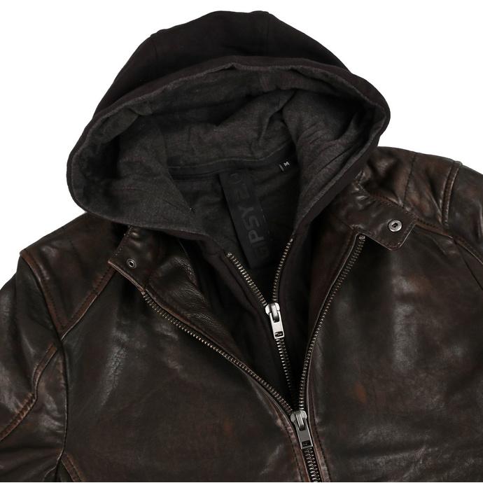 Veste pour hommes G2BLews SF LARETV - noir marron