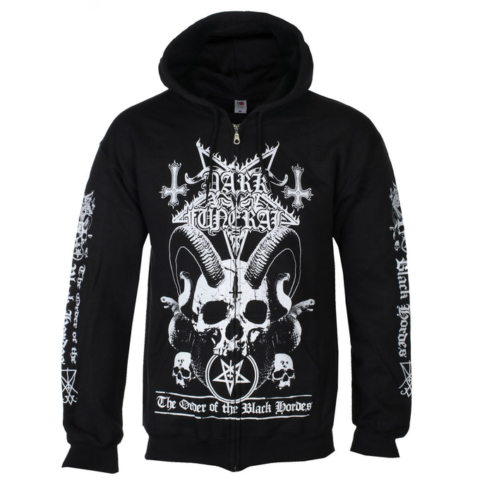 Sweat à capuche pour hommes Dark Funeral - Order Of The Black Hordes - RAZAMATAZ