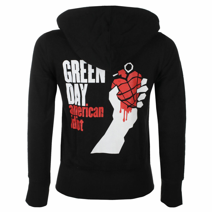 Sweat-shirt pour femme Green Day - Américain Idiot- ROCK OFF
