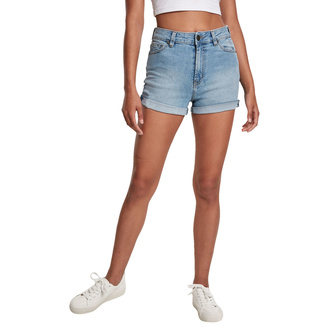 Short URBAN CLASSICS - lt. authenticblue washed, URBAN CLASSICS