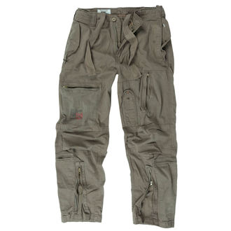 Pantalon hommes SURPLUS - INFANTRY CARGO - OLIV GEWAS, SURPLUS