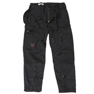 Pantalon hommes SURPLUS - INFANTRY CARGO - Noir GE, SURPLUS