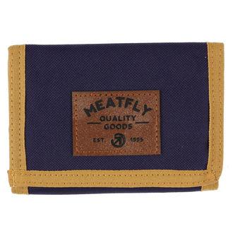 Portefeuille MEATFLY - Jules - Bleu, marron, vert, MEATFLY