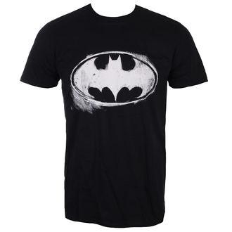 t-shirt de film pour hommes Batman - LOGO MONO DISTRESSED - LIVE NATION, LIVE NATION