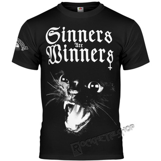 t-shirt hardcore pour hommes - SINNERS ARE WINNERS - AMENOMEN, AMENOMEN