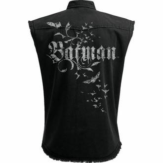 Chemise (gilet) sans manches pour hommes  SPIRAL - Batman - GOTHIQUE - Noir, SPIRAL, Batman