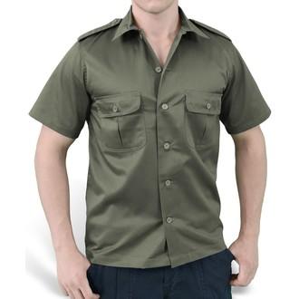 chemise SURPLUS - US Hemd 1/2 - OLIVE, SURPLUS