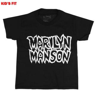 T-shirt pour enfants Marilyn Manson - Classic Logo - ROCK OFF, ROCK OFF, Marilyn Manson